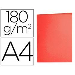 Subcarpeta cartulina Din A4 Liderpapel rojo