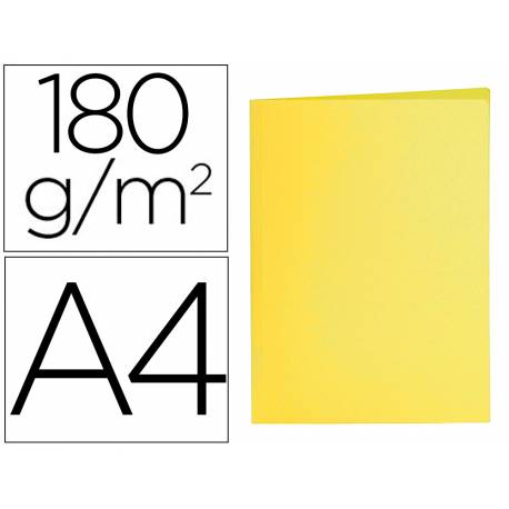 Subcarpeta cartulina Din A4 Liderpapel amarillo