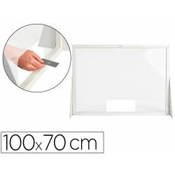 PANTALLA DE PROTECCION Q-CONNECT CARTON HORIZONTAL 100X70 CM