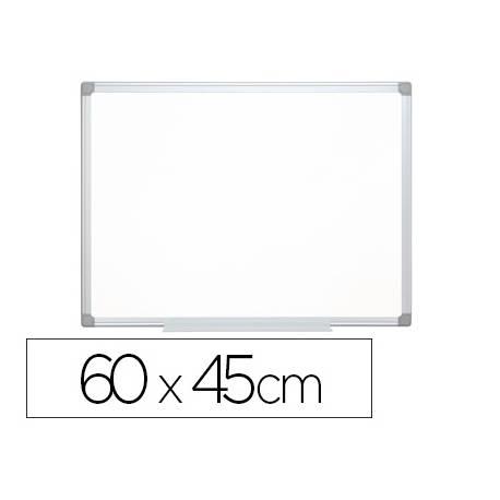 Pizarra Blanca Q-Connect Lacada Magnetica con marco de aluminio 60x45 cm