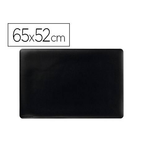 Vade de sobremesa Durable Negro Plastico 65x52 cm
