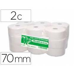Papel higienico jumbo marca CSP 2 capas para dispensador kf16756