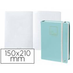 Libreta Quo Vadis Life Journal Infinite Dots 150x210 mm 224 hojas Puntos Tapa Similpiel color Verde