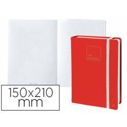 Libreta Quo Vadis Life Journal Infinite Dots 150x210 mm Puntos Tapa Similpiel color Rojo