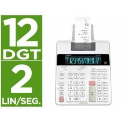 Calculadora Impresora Casio FR-2650RC con 12 dígitos