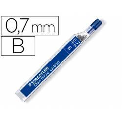 Minas Staedtler Mars Micro 0,7 mm B grafito Tubo de 12 unidades