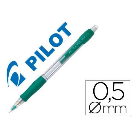 Portaminas Pilot Super Grip 0,5mm verde