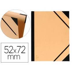 Carpeta de Dibujo Canson Tendence 52x72cm Cartón Kraft con Gomas