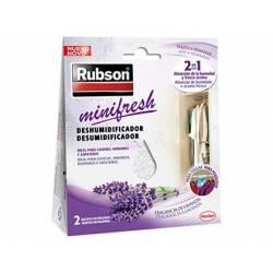 Ambientador deshumidificador Rubson mini fresh lavanda Pack 2 bolsitas
