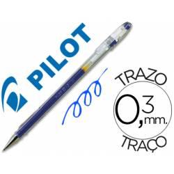 Boligrafo Pilot G-1 Azul 0,3 mm