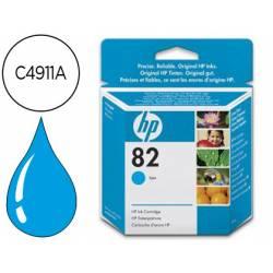 Cartucho HP 82 Cian C4911A