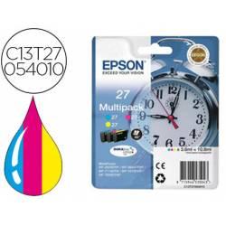 Cartucho Epson T27054010 Pack Multicolor C13T27054012