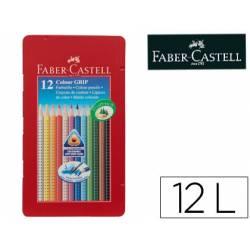 Lapices de Colores Faber Castell Acuarelable Caja Metalica 12 colores