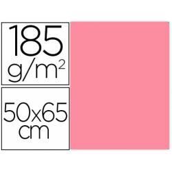 Cartulina Gvarro Rosa Chicle 50x65 cm 185 gr