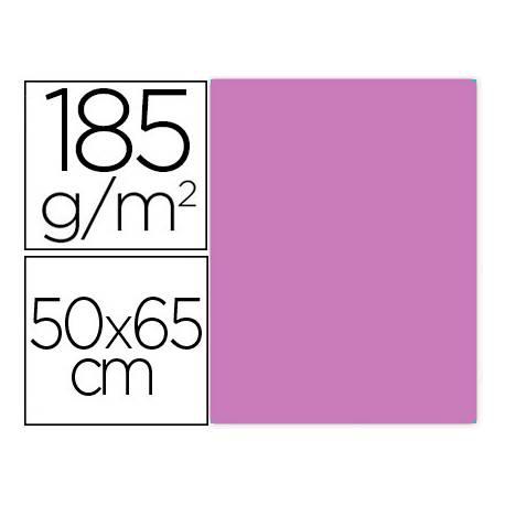 Cartulina Gvarro Malva 50x65 cm 185 gr