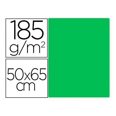 Cartulina Gvarro Kiwi 50x65 cm 185 gr