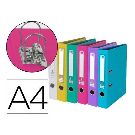 Archivador de palanca Liderpapel Documenta A4 Lomo 52 mm colores Surtidos Trending