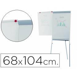 Pizarra Blanca Lacada Magnetica Tripode 68x104 Rocada