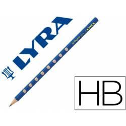 Lapiz de grafito Lyra Groove Slim mina Hb