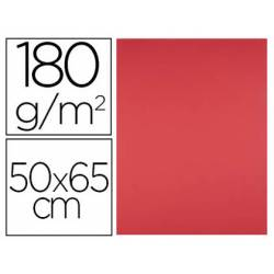 Cartulina Color Rojo Liderpapel 50x65 cm 185 gr