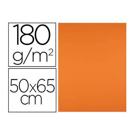 Cartulina Liderpapel Naranja Fuerte Paquete de 25