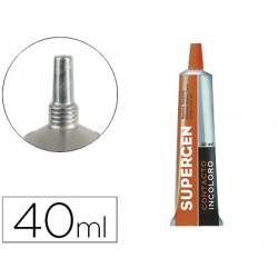 Pegamento de Contacto Supergen Incoloro 40ml