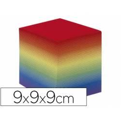 Taco de papel Quo Vadis encolado arco iris