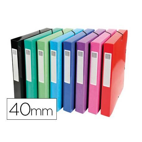 Carpeta proyecto Din A4 Extracompta 40 mm colores surtidos