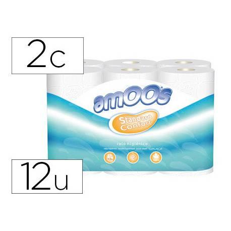 Papel higienico Amoos 2 capas
