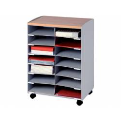 Modulo Paperflow gris 720x514x330mm