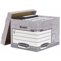 Cajon Fellowes carton reciclado capacidad 4 cajas archivo Din A4