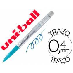 Bolígrafo Borrable roller gel UF-220 color azul claro 0,4 mm