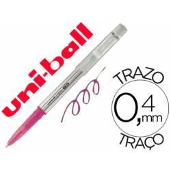Bolígrafo Borrable roller gel UF-220 color rosa 0,4 mm