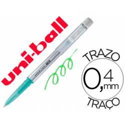 Bolígrafo Borrable roller gel UF-220 color verde 0,4 mm