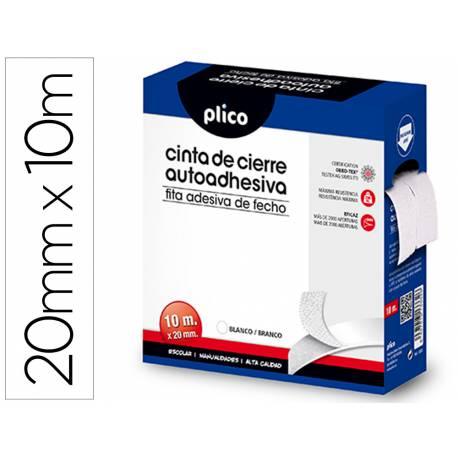 Cinta Adhesiva de cierre velcro Medidas 20mmx10m