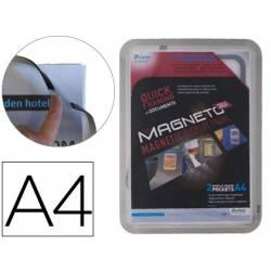 Marco Tarifold Din A4 magnetico gris pack de 2