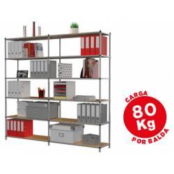 Estanteria Paperflow metalica 6 estantes
