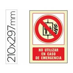 Señal Syssa no utilizar en caso de emergencia