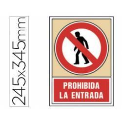 Señal Syssa prohibida la entrada