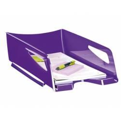 Bandeja sobremesa plastico Cep maxi violeta
