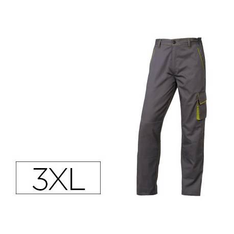 Pantalón trabajo DeltaPlus gris talla 3XL