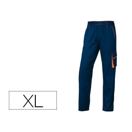 Pantalón trabajo DeltaPlus azul talla XL