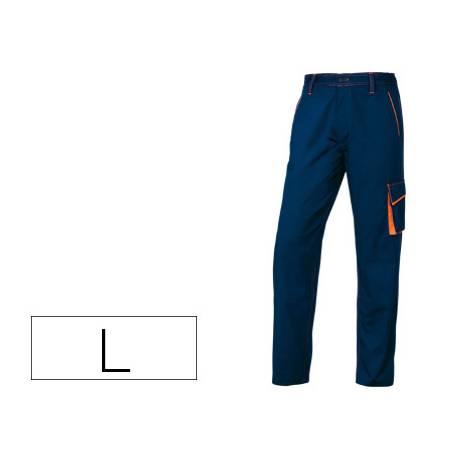 Pantalón trabajo DeltaPlus azul talla L