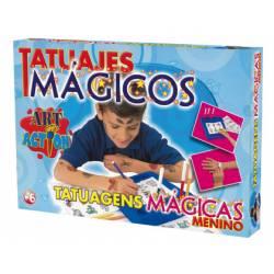 Juego mesa Tatuajes Magicos Falomir juegos