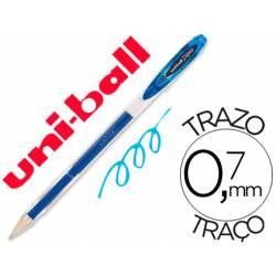 Boligrafo Uni-Ball Roller UM-120 signo Azul claro