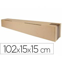 Caja para embalar Q-Connect Tubo 102x15x15Cm