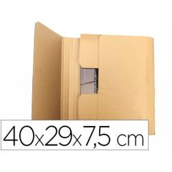 Caja para embalar Libros de tamaño 40x29x7,5Cm . marca Q-Connect