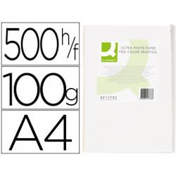 Papel fotocopiadora Q-Connect Ultra White DIN A4 100 Gramos