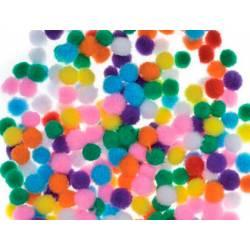 Pompones 10 mm Colores Surtidos marca itKrea
