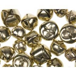 Cascabeles metalicos color oro Tamaños surtidos itKrea